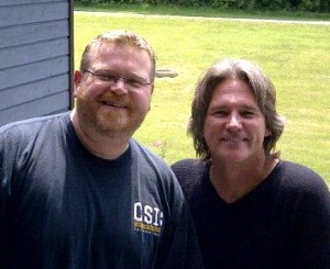Billy Dean stops by WXBQ for a chat with Reggie Neel and a photo with Tragler