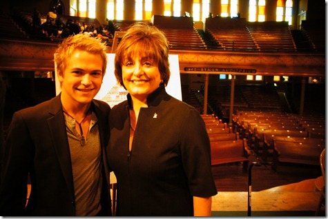 Hunter Hayes at Ryman