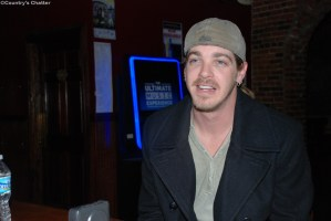 Exclusive interview with Bucky Covington, during Johnson City, Tenn., visit