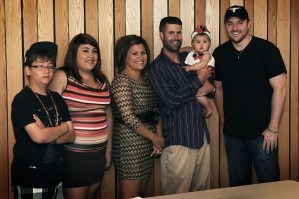 Chris Young visits Minot Air Force Base–Reunited with Wounded Warrior
