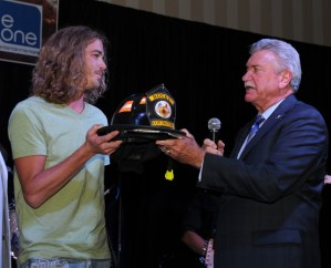 Bucky Covington honored for work with Help the Good Guys