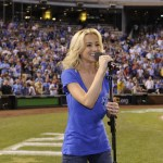 From the battlefields to the baseball field, Kellie Pickler performs at All-Star Game