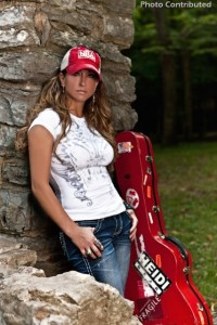 "Heidi Newfield–""This is NRA Country"" Artist of the Month"