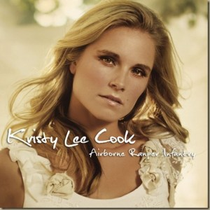 "Kristy Lee Cook's new single ""Airborne Ranger Infantry"" is debut release on Broken Bow Records"