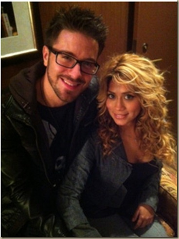 Danny and fiance
