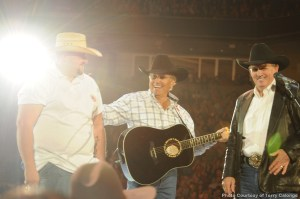 George Strait sets tone for tour with performance material spanning more than 30 years