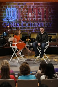 Chris Young heats up the week as guest on Katie
