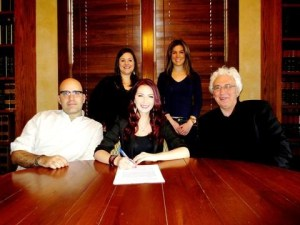 Katie Armiger signs publishing agreement with Downtown Music Publishing
