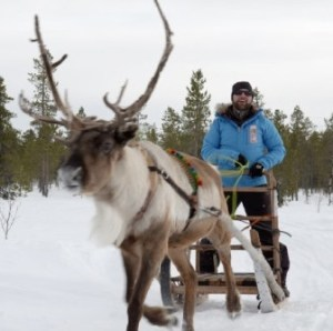 Craig Morgan in Sweeden to participat​e in Fjällräven Polar Dog Sled Race