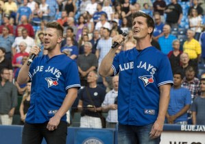 High Valley sings anthem at Blue Jays/Tigers game