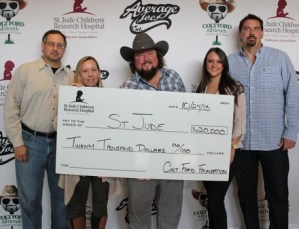 Colt Ford & Friends 2nd Annual Celebrity Golf Classic Raises $20,000 for St. Jude Children's Research Hospital