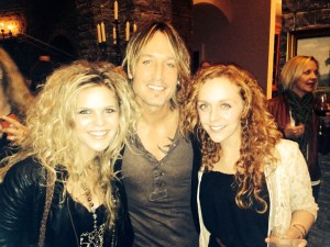 Natalie Stovall attends Keith Urban party; releases EP
