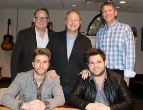 Sony ATV Music Publishing Nashville Signs Arista Nashville Recording Duo The Swon Brothers