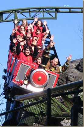Dolly Parton hosted ceremony opening the park's new family-friendly, double-launch roller coaster, FireChaser Express. Photo by J.H. OSBORNE