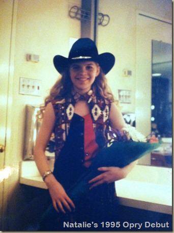 Opry debut backstage (1)