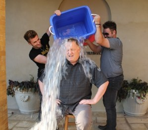 The Swon Brothers help Sony Music Nashville CEO with ALS Ice Bucket Challenge