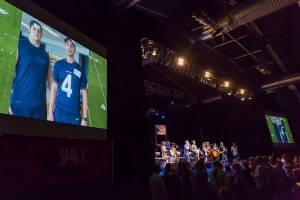 Singer Surprised On Stage by Retired Seattle Seahawks Players at KMPS Radio Event Last Night