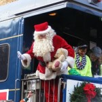 Amy Grant takes part in the 2014 Santa Train