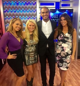 Elizabeth Lyons visits The Daily Buzz and Emotional Mojo