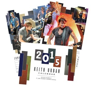 Win a Keith Urban 2015 Calendar to Benefit the Kids of St. Jude Children's Research Hospital®