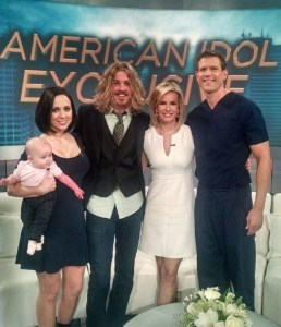Bucky Covington appears on daytime medical talk show The Doctors with his daughter