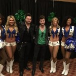 The Swon Brothers with the Dallas Cowboy Cheerleaders