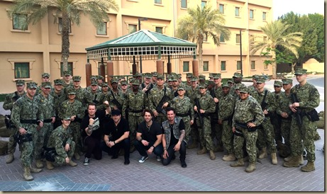Parmalee-NET-Group Shot With Soldiers (1)