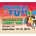 Entertainment schedule for 2015 Washington County Fair, Abingdon, VA
