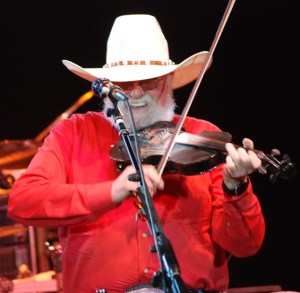 The Charlie Daniels Band making the night special for the fans