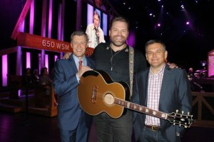 Blaster Records' Artist James Otto Performs on Grand Ole Opry