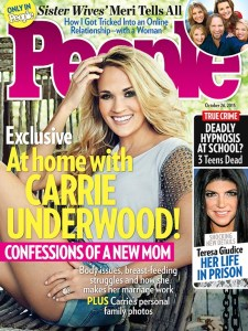 Carrie Underwood has the cover of new issue of People