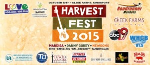 Danny Gokey, Mandisa and NewSong join five more artists at Harvest Fest concert