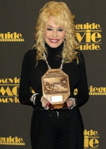 """Dolly Parton honored with Movieguide Most Inspiring TV Program of 2015 for """"Coat of Many Colors"""""""