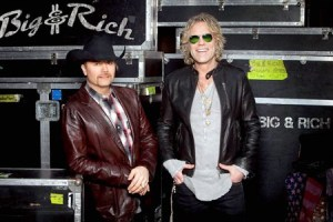 Big & Rich performing in Nashville to benefit the Special Forces Charitable Trust