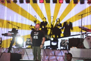 MercyMe know how to brighten a stage and lighten your heart