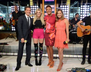 "Kelsea Ballerini shines performing ""Peter Pan"" on Good Morning America's 2016 Summer concert Series"