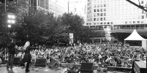 Thousands of Fans Converge In Canary Wharf For Nashville Meets London Music Festival