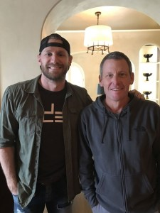 "Chase Rice and Lance Armstrong Talk ""Head Down Eyes Up"" on ""The Forward"" Podcast, Now Available"
