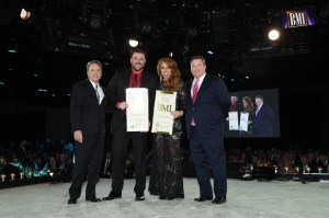 Chris Young honored at BMI, ASCAP, and SESAC Awards