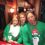 Darryl Worley delivers happiness to thousands as celebrity guest on the 2016 Santa Train