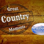 """""""Great Country Moments"""" Presented By Springer Mountain Farms® Featuring Country Legends In January"""