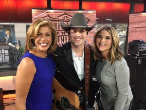 William Michael Morgan performs on NBC's Today Show
