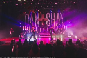 Dan + Shay rock sold-out crowd in duo's first headlining show at historic Ryman Auditorium