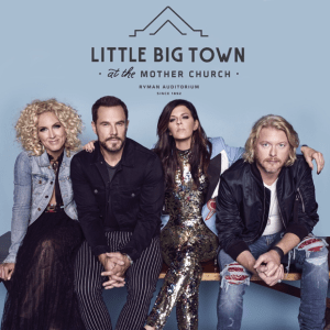 Little Big Town Announces Additional Ryman Residency Dates