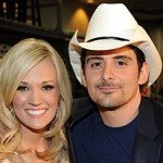 Carrie Underwood joins Brad Paisley for FaceTime duet during C2C in London