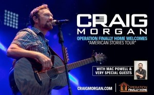 Craig Morgan named Operation Finally Home 2017 Ambassador