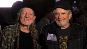 """Willie Nelson music video, """"He Won't Ever Be Gone"""" is for Merle"""