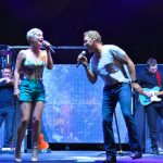 "Craig Morgan and Maggie Rose debut duet ""4XLife"" at Jeep Beach jam in Panama City, Florida"