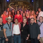 Dustin Lynch celebrates fourth straight #1 in Broadway Honky Tonk