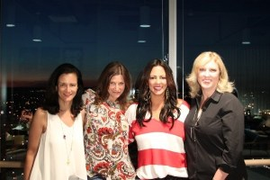 Sara Evans offers advice to young female artists at Change the Conversation event